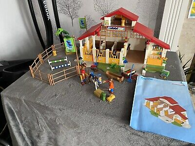 Playmobil Horse Farm Stables Building 4190 Riding Accessories Figures Country • 23£