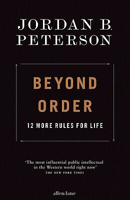 AU51 • Buy Beyond Order: 12 More Rules For Life By Jordan Peterson - Hardcover (PRE-ORDER)