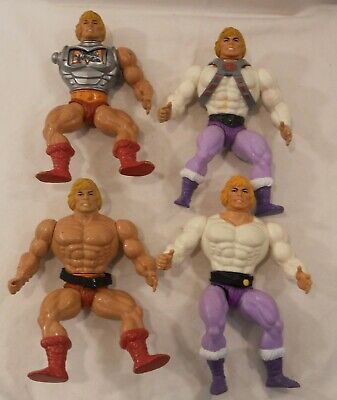 $42.44 • Buy Lot Vintage He-Man 1981 Masters Of The Universe Action Figure