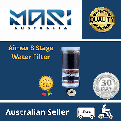 AU35 • Buy Aimex Water Filter Cartridge 8 Stage Water Purifier Ceramic Carbon Minerals X 1