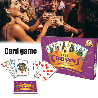 AU19.99 • Buy Five Crowns Card Game,5 Suites Classic Awards Winning Fun Family Board Game, AU