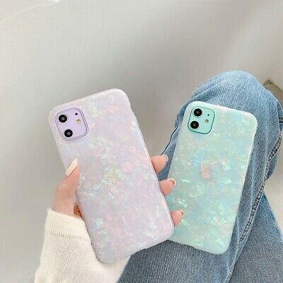 AU6.44 • Buy Pearl Marble Bling Phone Cover Case For IPhone 11 Pro MAX XR X 6s 6 8 7 Plus
