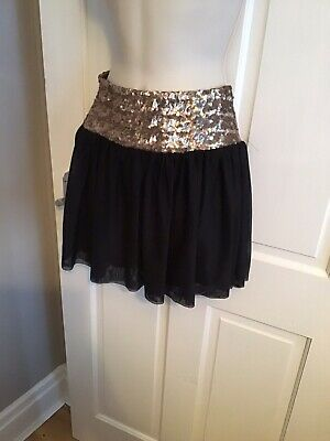 Ladies Sequinned Skirt From ASOS Size 6 • 5£