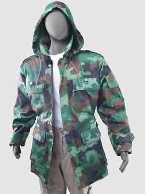 £39.99 • Buy Genuine Brand New Serbian Army Issue Camouflage Parka With Removable Fur Lining