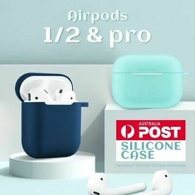 AU4.79 • Buy Apple Airpods 1 2/Pro Silicone Gel Case Shockproof Protective Cover Skin Case