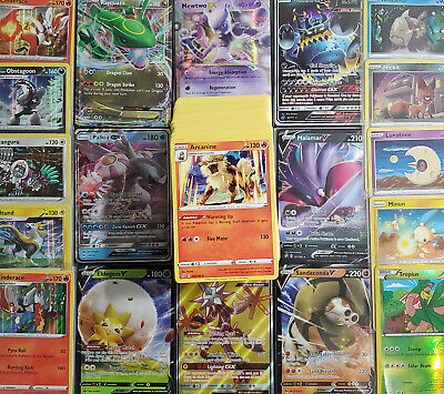 $ CDN15 • Buy Pokemon Card 100 OFFICIAL TCG Card Lots - Ultra Rare EX, GX, V Or VMax Included!