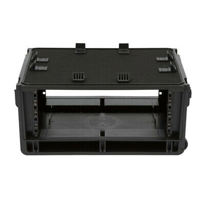 AU428.65 • Buy SKB Injection Molded 4U ISeries Studio Flyer Rack Case With Handle And Wheels