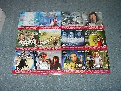Christmas Magic And Fantasy DVD Complete Collection Daily Mail • 3.99£