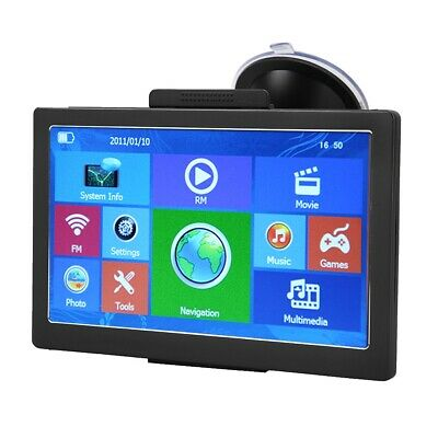 AU93.65 • Buy GPS Navigator Car GPS Navigator For 7 Inch Truck With 8 GB ROM Navigation Device