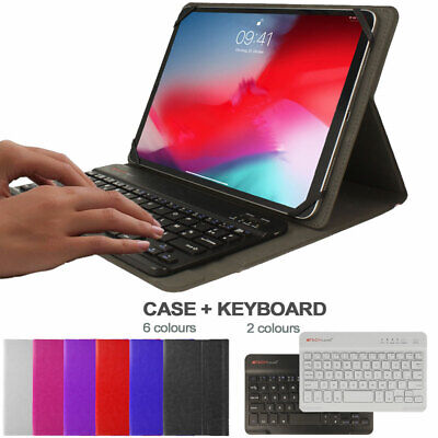 Universal Leather Case & KEYBOARD For Samsung Galaxy Tab A 8  8.0 SM-T290 T295 • 14.95£