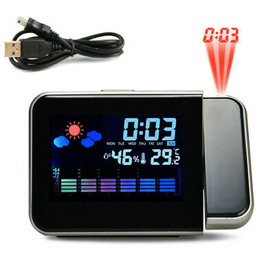 Projection LED Clock Home Mens Fun Novelty Gadget Gift Xmas Stocking Fillers UK • 9.29£