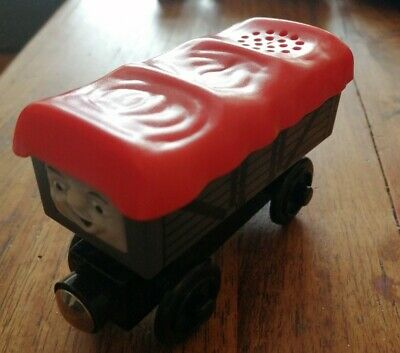 Thomas The Tank Engine Wooden Railway Train Track Giggling Troublesome Truck... • 3.90£