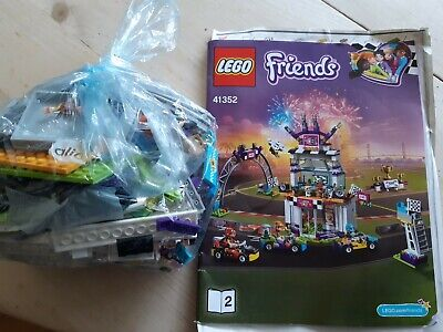 41352 Lego Friends The Big Race Day Set • 4.50£