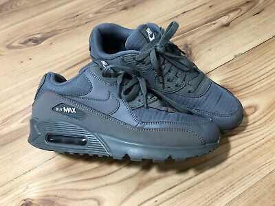 Nike Air Max 90 Grey Suede Quilted Waffle Mens Trainer Size UK 6 USED Nike Air • 42.05£
