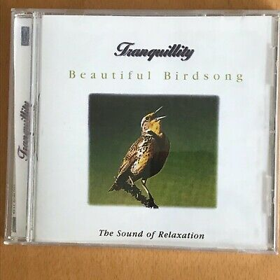 TRANQUILITY BEAUTIFUL BIRDSONG CD (Dog Charity Sale) Relaxation - SUPER! • 2.50£