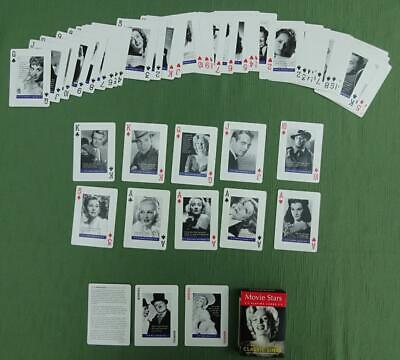 Superb Pack Of Playing Cards With Movie Stars And Quotations • 3.99£