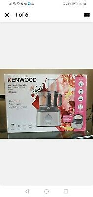 Kenwood Multipro Compact Food Processor (FDM312SS) • 84£