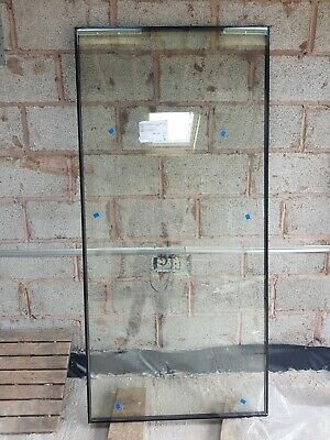 BRAND NEW 890 X 1875 Double Glazed 28mm LOW E Toughened Argon Filled Glass Panel • 20£