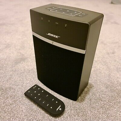Immaculate Condition - Bose 731396-2100 SoundTouch 10 Multi-Room Speaker - Black • 51£
