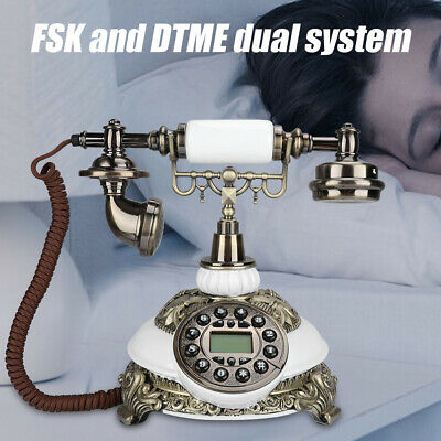 Antique Telephone IDS-8646C Old Fashioned Landline Telephone With Caller ID FSK • 60.71£