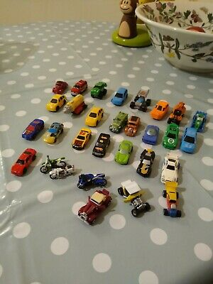 Micro Machines Cars - Mini  Hotwheels X 30 Joblot Small Toy Cars Bundle • 10.50£