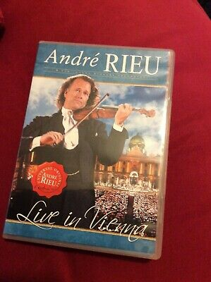 ANDRE RIEU - LIVE IN VIENNA - New & Sealed Region 0 Dvd • 5.99£
