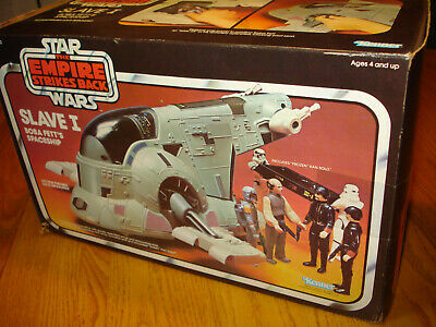 $ CDN232.29 • Buy 1980 Slave-1 Complete With Box Vintage Star Wars ESB Kenner Vehicle .WOW CLEAN