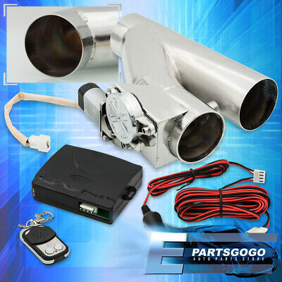 $ CDN105.44 • Buy 2.5  Electric Exhaust Catback/Downpipe Cutout Valve System Kit W/ Remote Control