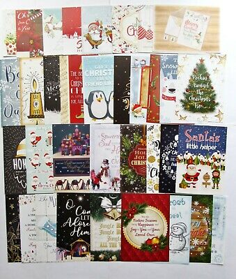 Hunkydory The Little Book Christmas Wishes Card Toppers X 24 Verses & Poetry  • 1.79£