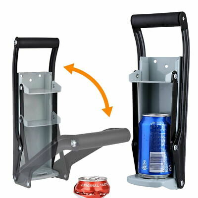 £7.85 • Buy 16OZ Beer Tin Can Crusher Wall Mounted Heavy Duty Recycling Tool Bottle Opener