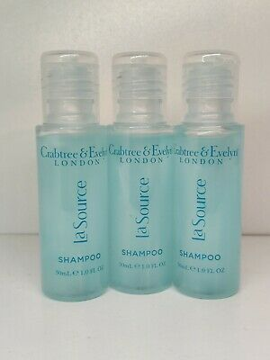 £2.99 • Buy Crabtree And Evelyn La Source Shampoo 3x30ml New Travel Size Gift