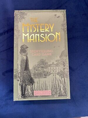 Brand New THE MYSTERY MANSION STORYTELLING CARD GAME  • 12£