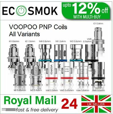 £8.47 • Buy VooPoo PnP Coils VM1 VM3 VM4 VM5 VM6 TM1 TM2 R1 R2 Prebuilt Wire RBA OFFER PRICE