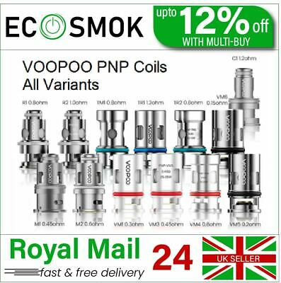 VooPoo Vinci PnP VM1 VM3 VM4 VM5 VM6 TM1 TM2 TR1 M1 M2 R1 R2 5x Replacement Coil • 9.84£