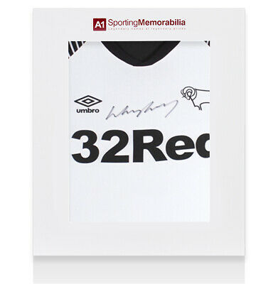 £225.99 • Buy Wayne Rooney Signed Derby County Shirt 2019-20 - Gift Box Autograph Jersey