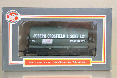 DAPOL B085 JOSEPH CROSFIELD CHEMICALS WARRINGTON TON TANK WAGON 15 BOXED Ny • 16.50£