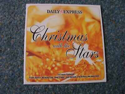 Christmas With The Stars CD The Daily Express 14 Festive Tracks • 1.40£