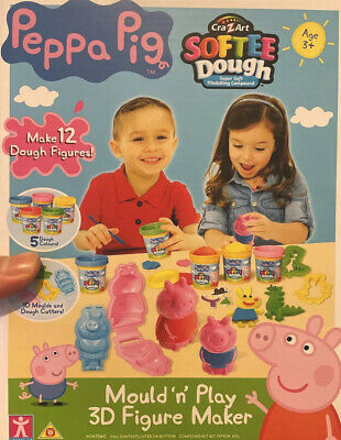 Peppa Pig 21027 Dough Mould And Play 3D Figure Maker (Multi-Colour)  • 20£