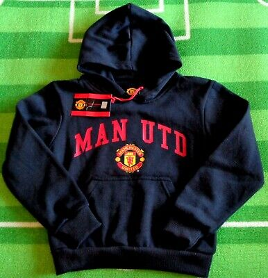 ⚽️MANCHESTER UNITED FC⚽️Official⚽️Boys Man Utd HOODIE⚽️8 Years / Small⚽️NEW⚽️11 • 19.69£
