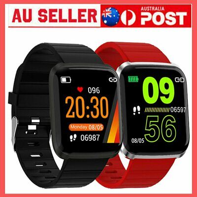 AU19.92 • Buy Fitness Fit#Bit Tracker Smart Watch Blood Pressure Step Count For IOS Andriod EM