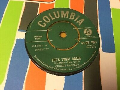Chubby Checker ~ Lets Twist Again~ Very Good Condition ~ New Repro Sleeve ~ 1960 • 2.99£