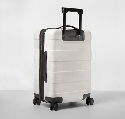 $ CDN42.32 • Buy Hardside 20 Carry On Spinner Suitcase Beige - Made By Design