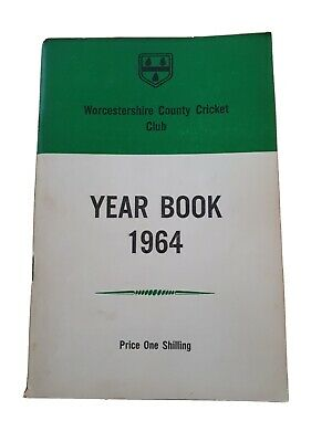 £10 • Buy Worcestershire CCC Year Book 1964