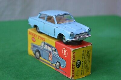 Dinky Toys 139 Ford Consul Cortina Saloon Car Original Vintage Model Boxed • 29.99£