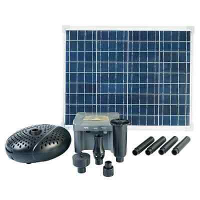 Ubbink SolarMax 2500 Set With Solar Panel Pump And Battery Garden Waterfall • 410.72£