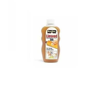 Linseed Oil Raw, 300ml, By Rustins Ideal For Oiling Cricket Bats  • 7.99£