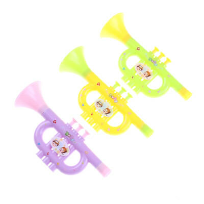 Baby Colorful Plastic Trumpet Hooter TOY Kids Musicals Instrument EducationT OS • 4.51£