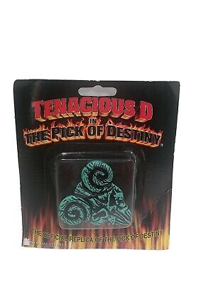 $ CDN31.78 • Buy  Tenacious D In The Pick Of Destiny Guitar Pick Replica Gfischer 47321 🎸