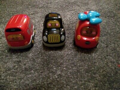 Vtech Toot Toot Drivers Taxi, Bus And Helicopter. Lights And Sounds. • 2.99£