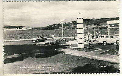 A Valentine's  Real Photo  Post Card Of Lairg And Loch Shin Dam. Sutherlandshire • 1.85£